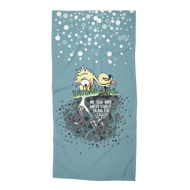 Move Away From The Light! Accessories Beach Towel by Hadeda Creative's Artist Shop