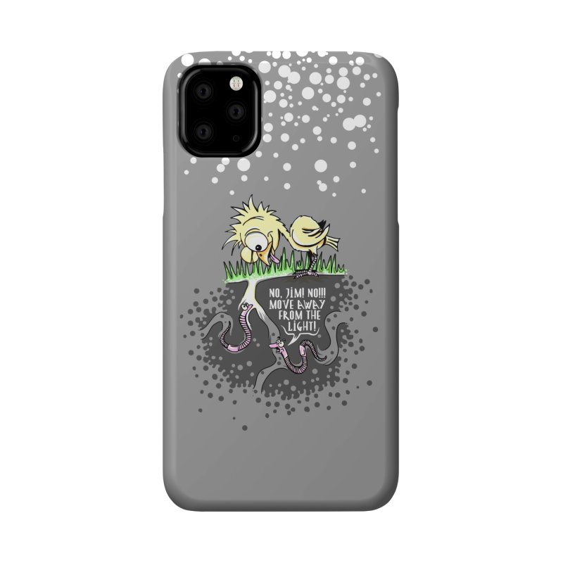 Move Away From The Light! Accessories Phone Case by Hadeda Creative's Artist Shop