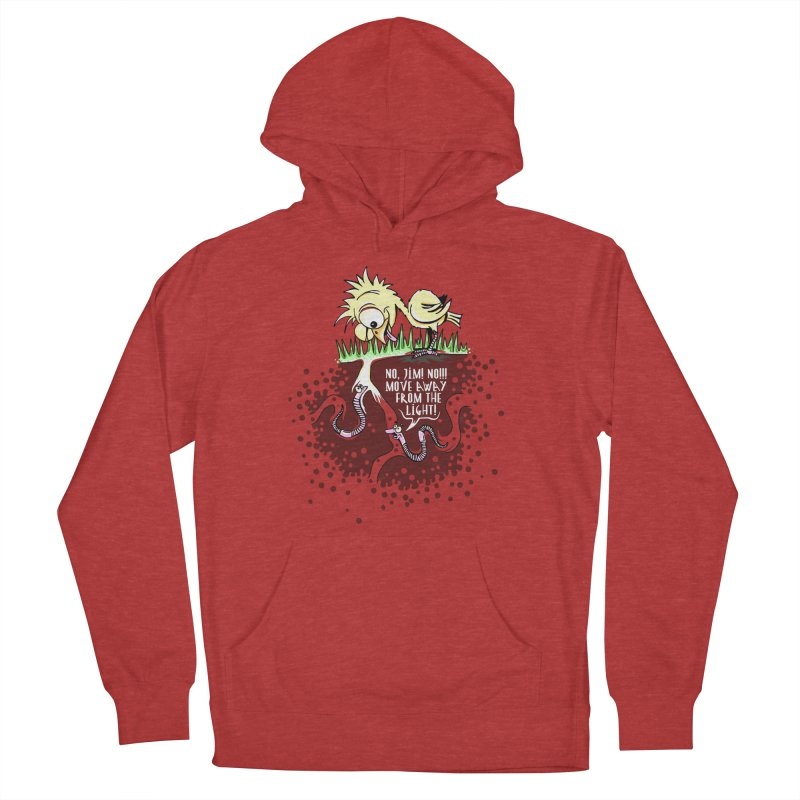 Move Away From The Light! Women's Pullover Hoody by Hadeda Creative's Artist Shop