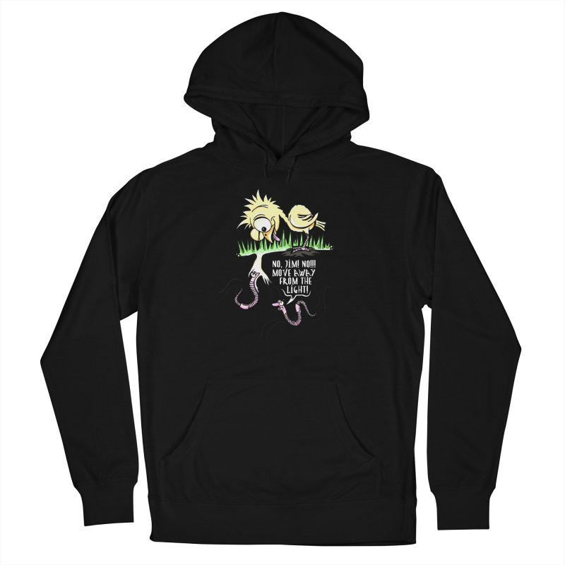 Move Away From The Light! Men's Pullover Hoody by Hadeda Creative's Artist Shop