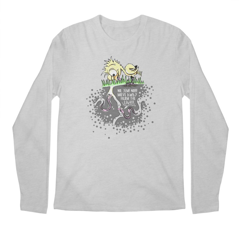 Move Away From The Light! Men's Longsleeve T-Shirt by Hadeda Creative's Artist Shop