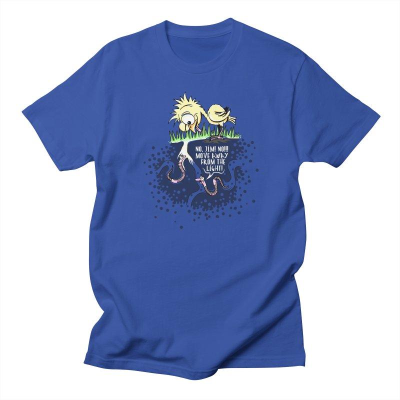Move Away From The Light! Women's Regular Unisex T-Shirt by Hadeda Creative's Artist Shop