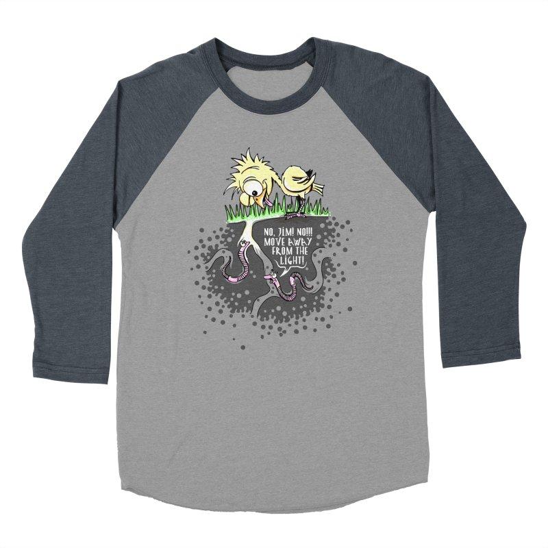Move Away From The Light! Men's Baseball Triblend Longsleeve T-Shirt by Hadeda Creative's Artist Shop