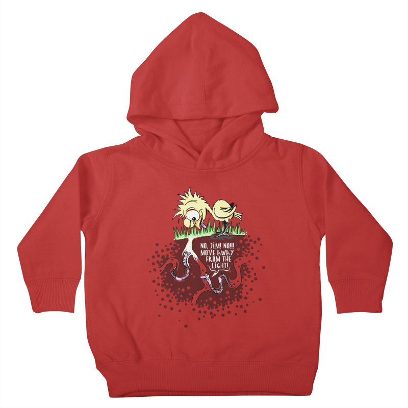 Move Away From The Light! Kids Toddler Pullover Hoody by Hadeda Creative's Artist Shop
