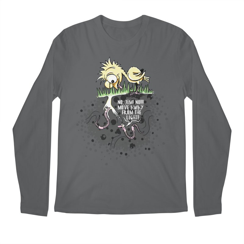 Move Away From The Light! Men's Regular Longsleeve T-Shirt by Hadeda Creative's Artist Shop
