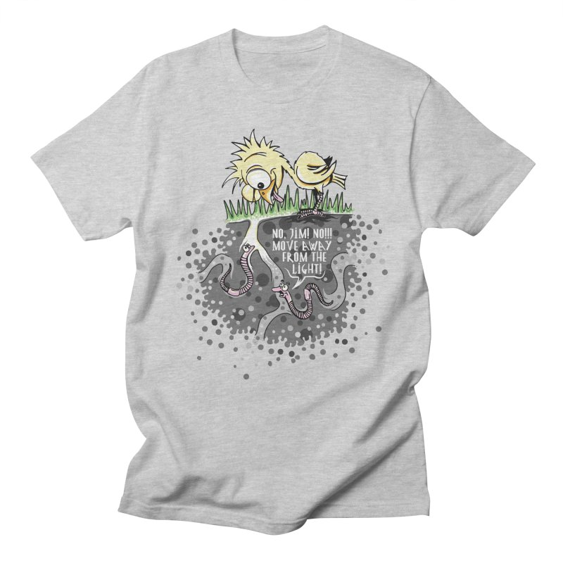 Move Away From The Light! Women's Regular Unisex T-Shirt by Hadeda Creative's Artist Shop