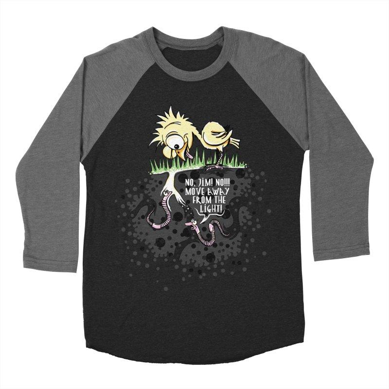 Move Away From The Light! Women's Baseball Triblend Longsleeve T-Shirt by Hadeda Creative's Artist Shop