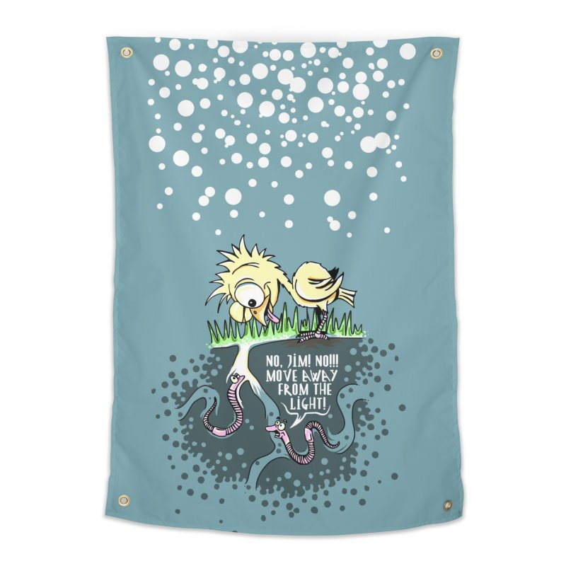 Move Away From The Light! Home Tapestry by Hadeda Creative's Artist Shop
