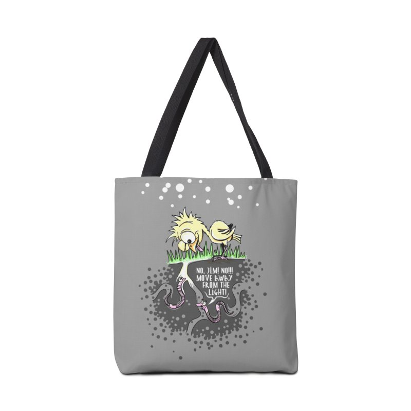 Move Away From The Light! Accessories Bag by Hadeda Creative's Artist Shop