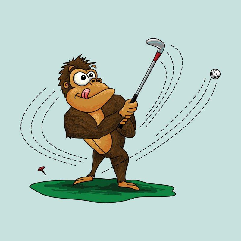 Gorilla Golfer by Hadeda Creative's Artist Shop