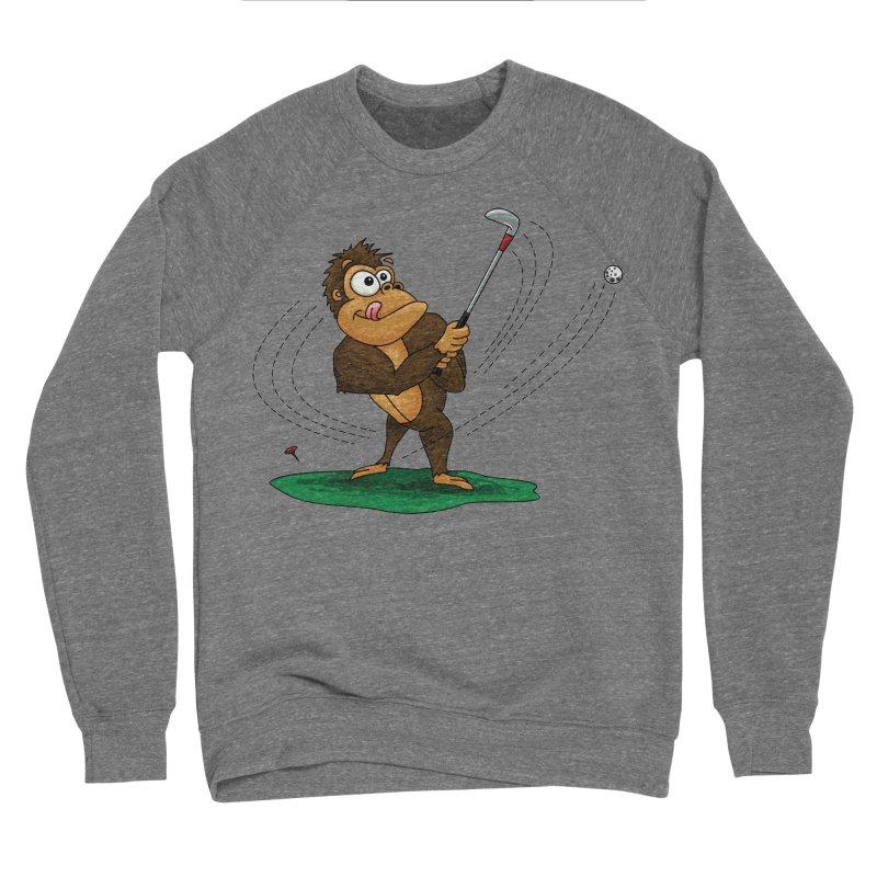 Gorilla Golfer Women's Sponge Fleece Sweatshirt by Hadeda Creative's Artist Shop