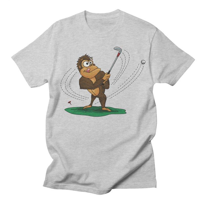 Gorilla Golfer Women's Regular Unisex T-Shirt by Hadeda Creative's Artist Shop