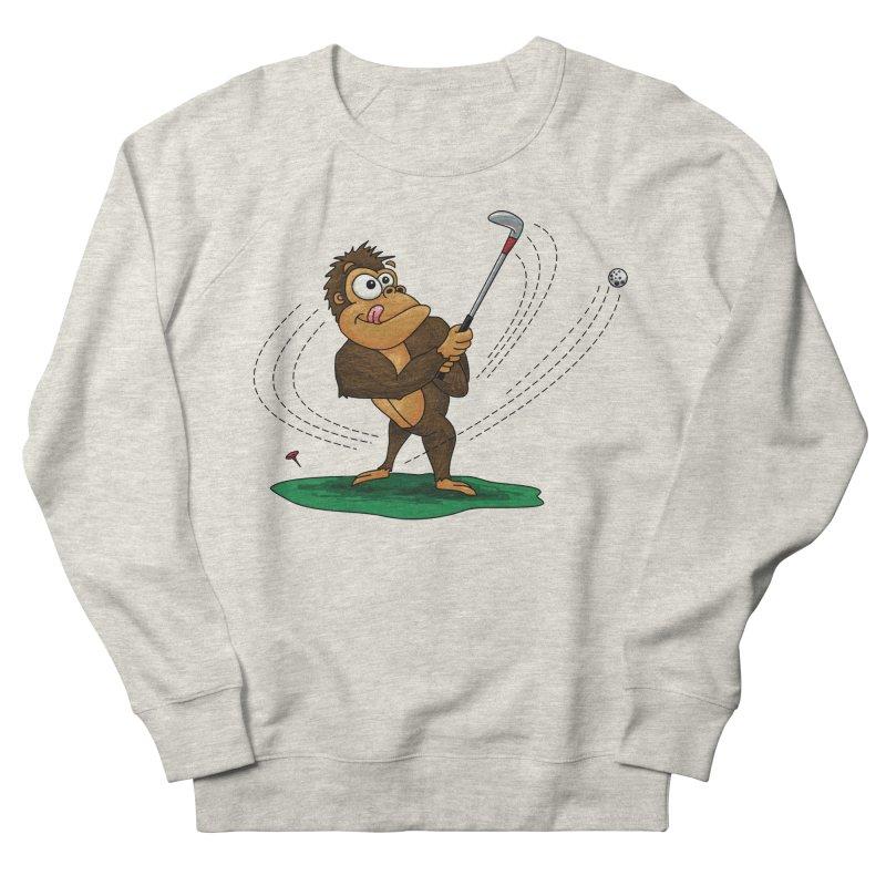 Gorilla Golfer Women's French Terry Sweatshirt by Hadeda Creative's Artist Shop
