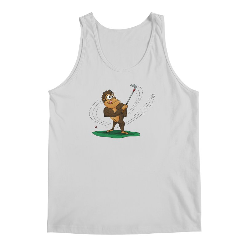 Gorilla Golfer Men's Regular Tank by Hadeda Creative's Artist Shop