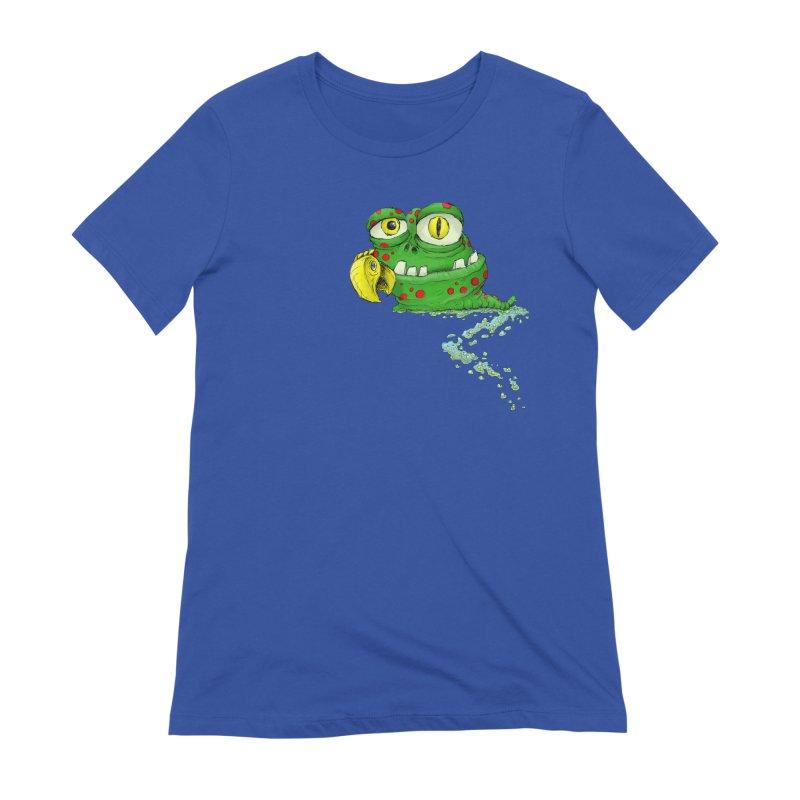 (Slimey) Steve Women's Extra Soft T-Shirt by Hadeda Creative's Artist Shop