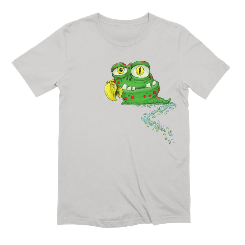 (Slimey) Steve Men's Extra Soft T-Shirt by Hadeda Creative's Artist Shop