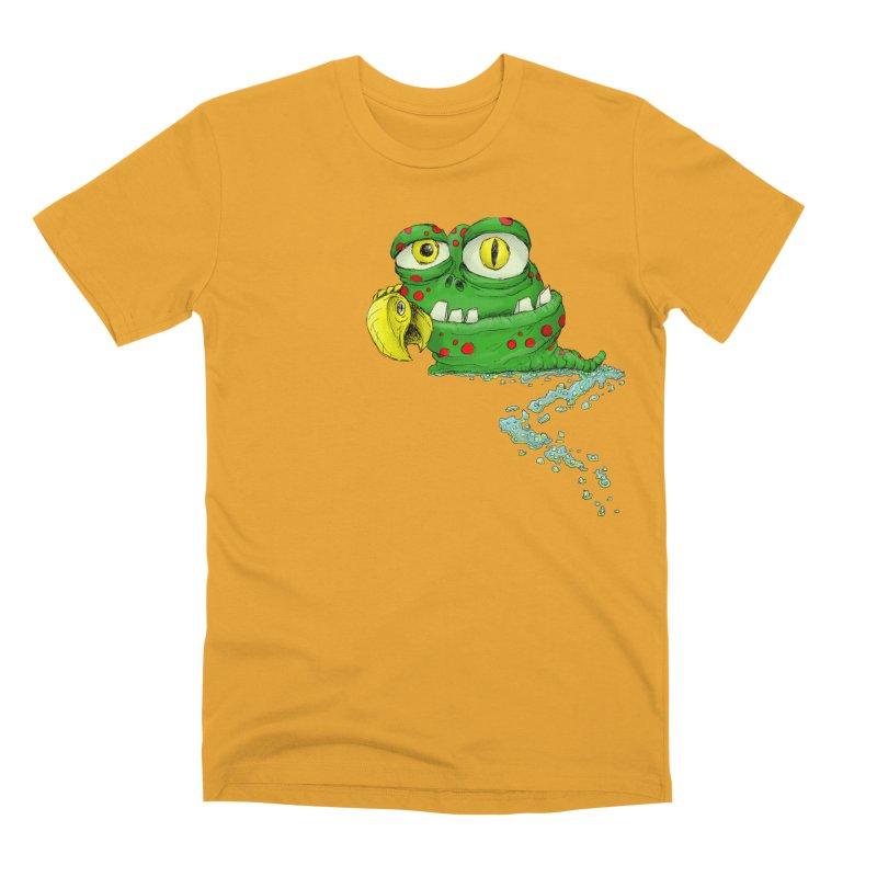 (Slimey) Steve Men's Premium T-Shirt by Hadeda Creative's Artist Shop