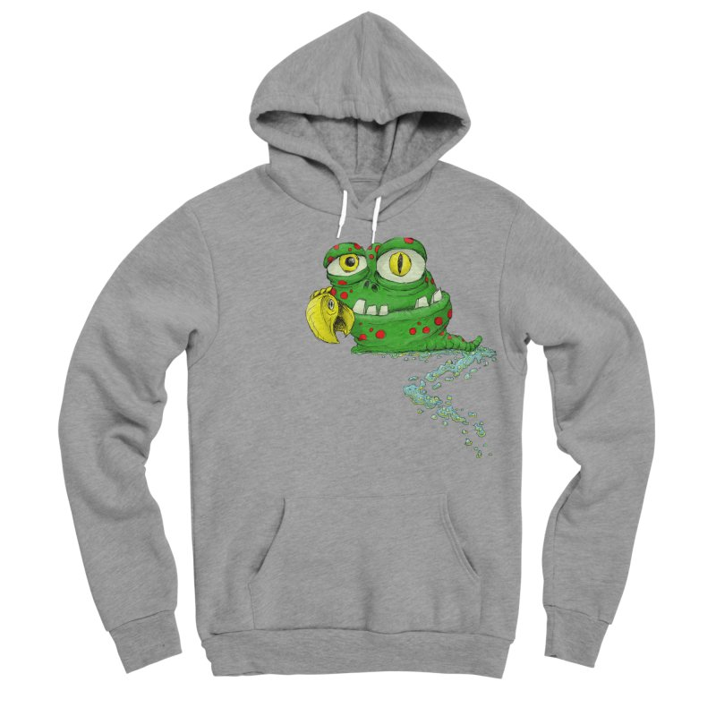(Slimey) Steve Men's Sponge Fleece Pullover Hoody by Hadeda Creative's Artist Shop