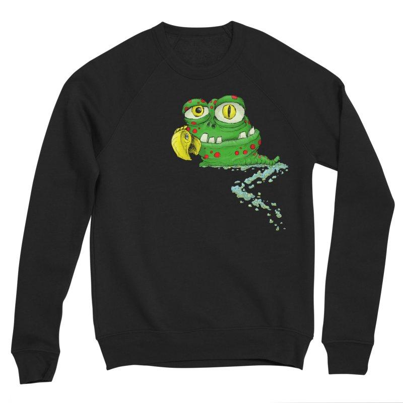 (Slimey) Steve Women's Sponge Fleece Sweatshirt by Hadeda Creative's Artist Shop