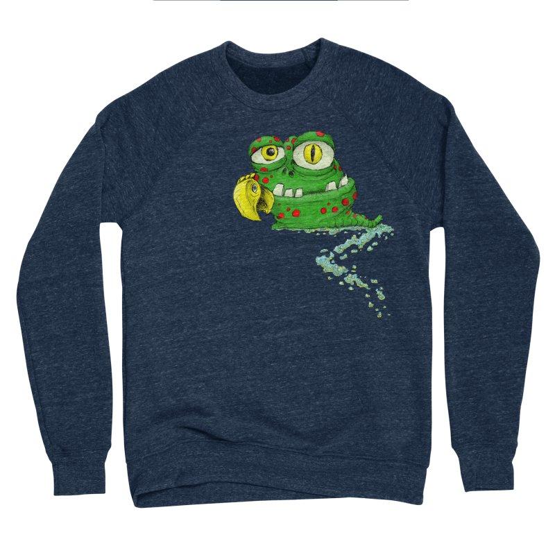 (Slimey) Steve Men's Sponge Fleece Sweatshirt by Hadeda Creative's Artist Shop