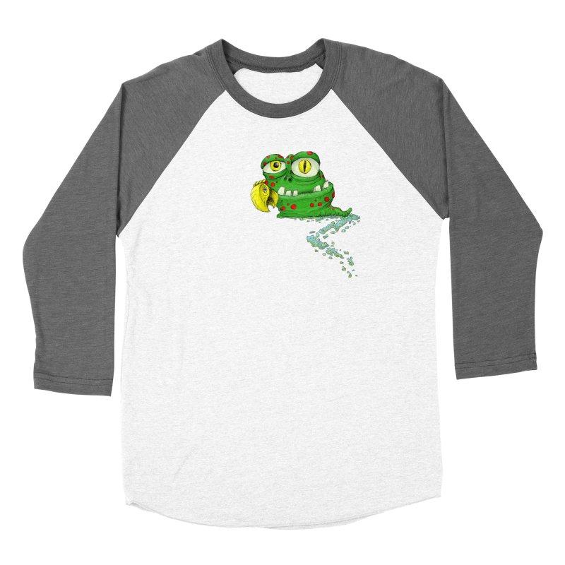 (Slimey) Steve Women's Longsleeve T-Shirt by Hadeda Creative's Artist Shop
