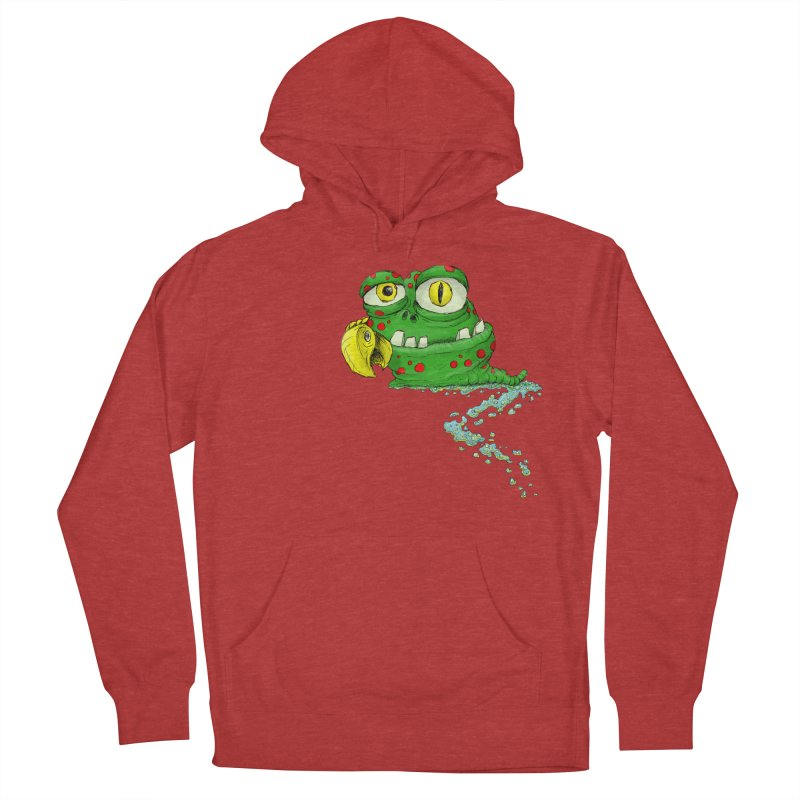 (Slimey) Steve Women's French Terry Pullover Hoody by Hadeda Creative's Artist Shop