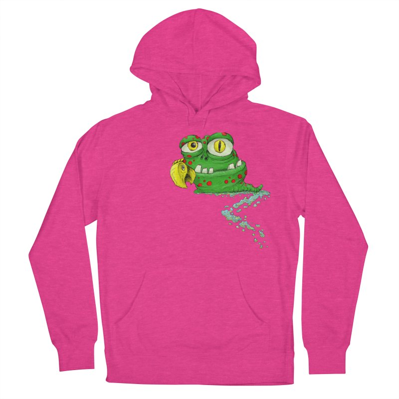 (Slimey) Steve Men's French Terry Pullover Hoody by Hadeda Creative's Artist Shop