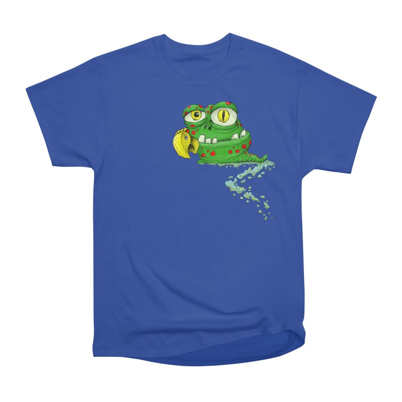 (Slimey) Steve Women's Heavyweight Unisex T-Shirt by Hadeda Creative's Artist Shop