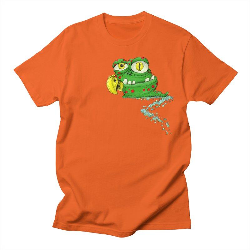 (Slimey) Steve Men's T-Shirt by Hadeda Creative's Artist Shop
