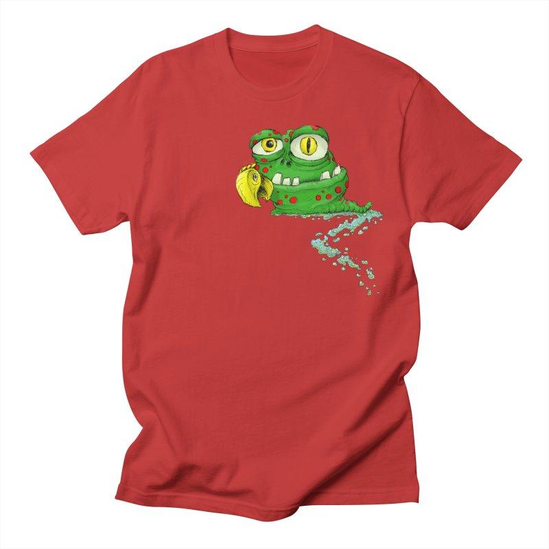 (Slimey) Steve Women's Regular Unisex T-Shirt by Hadeda Creative's Artist Shop