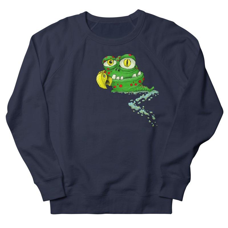 (Slimey) Steve Women's French Terry Sweatshirt by Hadeda Creative's Artist Shop