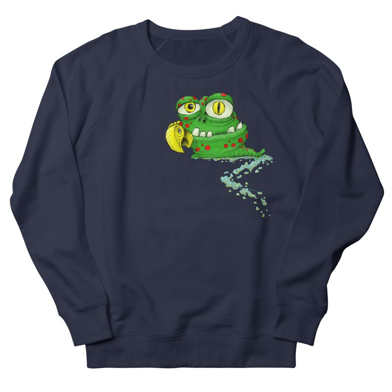 (Slimey) Steve Men's French Terry Sweatshirt by Hadeda Creative's Artist Shop
