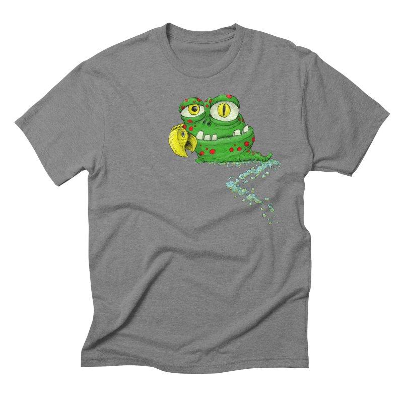 (Slimey) Steve Men's Triblend T-Shirt by Hadeda Creative's Artist Shop