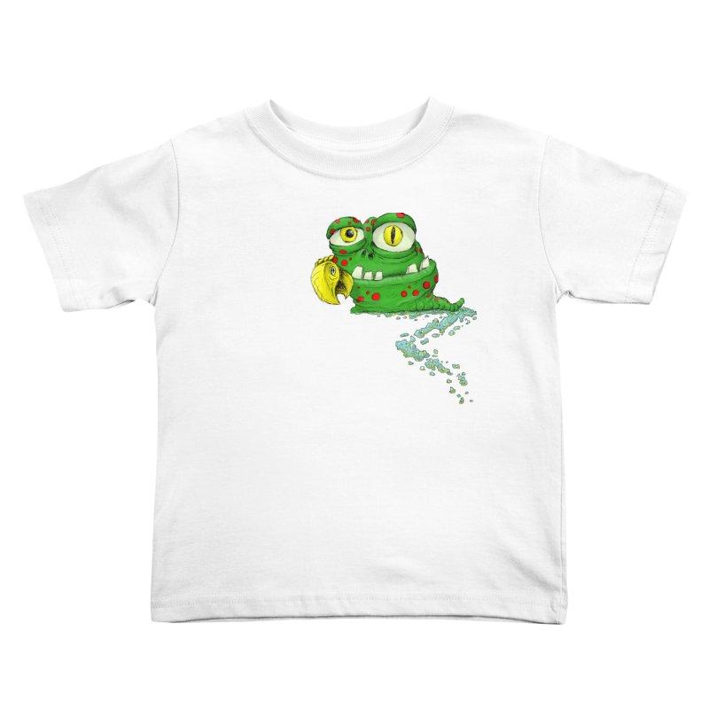 (Slimey) Steve Kids Toddler T-Shirt by Hadeda Creative's Artist Shop