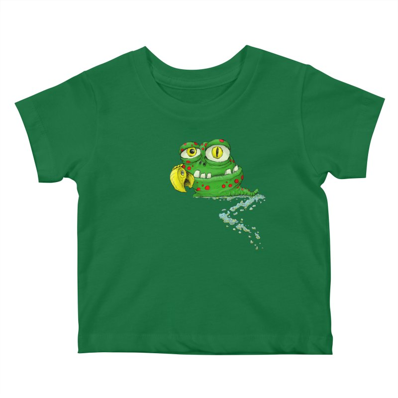 (Slimey) Steve Kids Baby T-Shirt by Hadeda Creative's Artist Shop