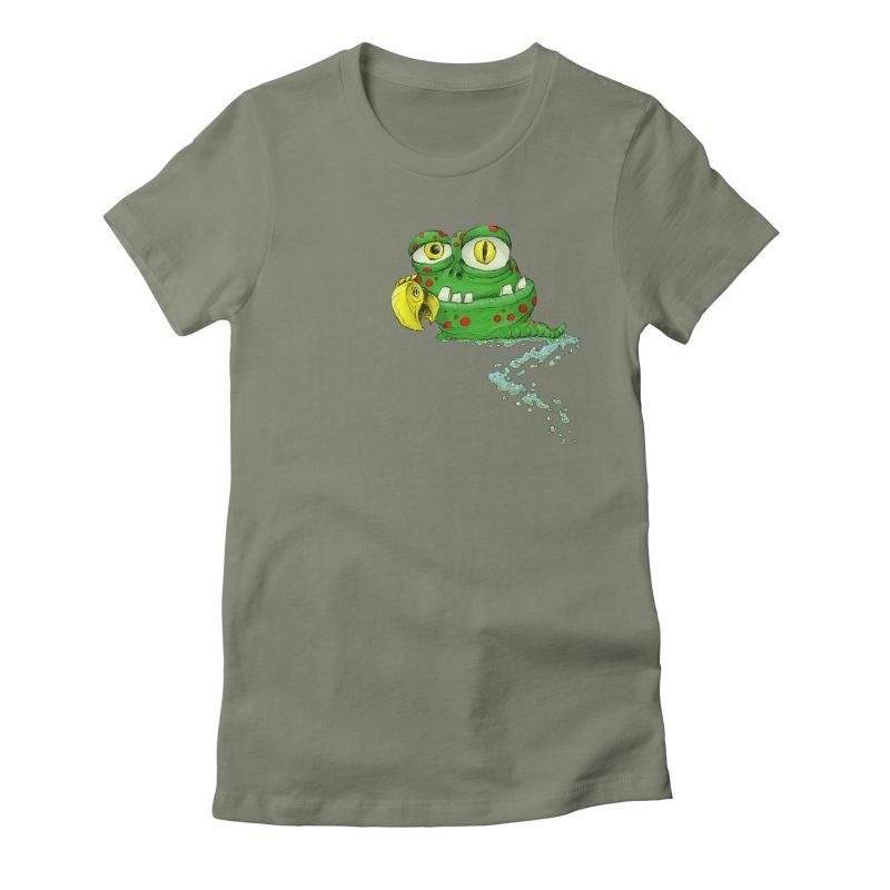 (Slimey) Steve Women's T-Shirt by Hadeda Creative's Artist Shop