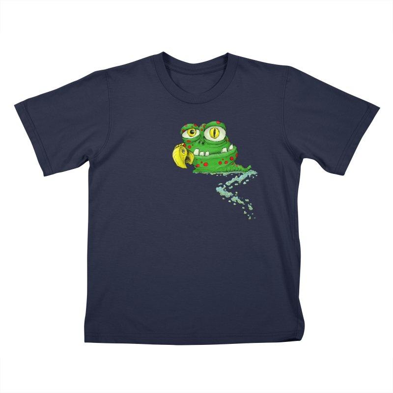 (Slimey) Steve Kids T-Shirt by Hadeda Creative's Artist Shop