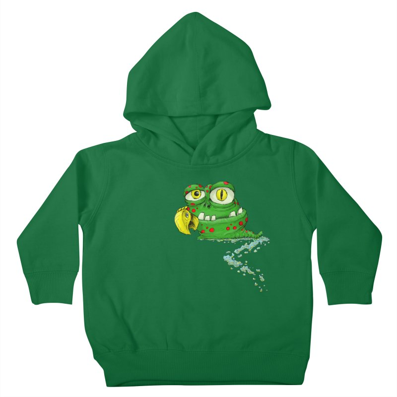 (Slimey) Steve Kids Toddler Pullover Hoody by Hadeda Creative's Artist Shop