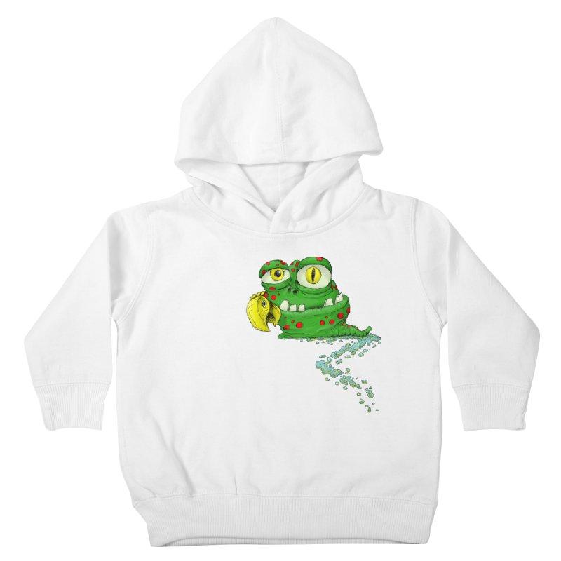 (Slimey) Steve Kids Toddler Pullover Hoody by Hadeda Creative's Artist Shop