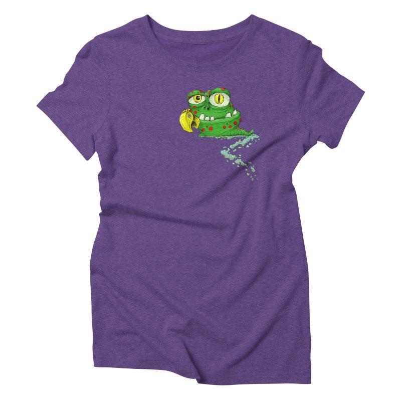 (Slimey) Steve Women's Triblend T-Shirt by Hadeda Creative's Artist Shop