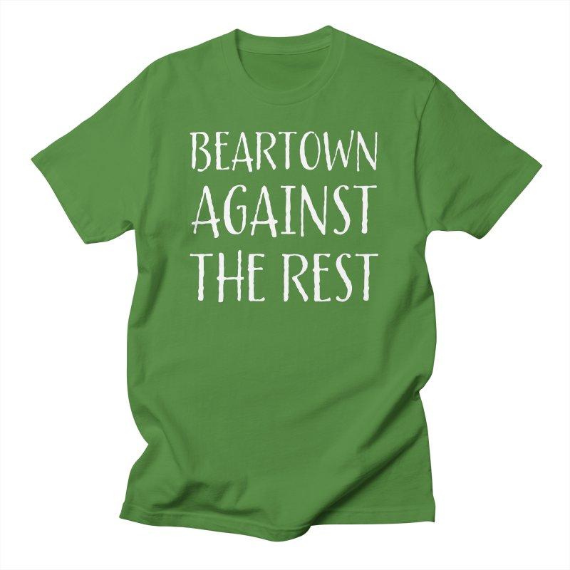 Beartown Against The Rest Men's T-Shirt by Hadeda Creative's Artist Shop