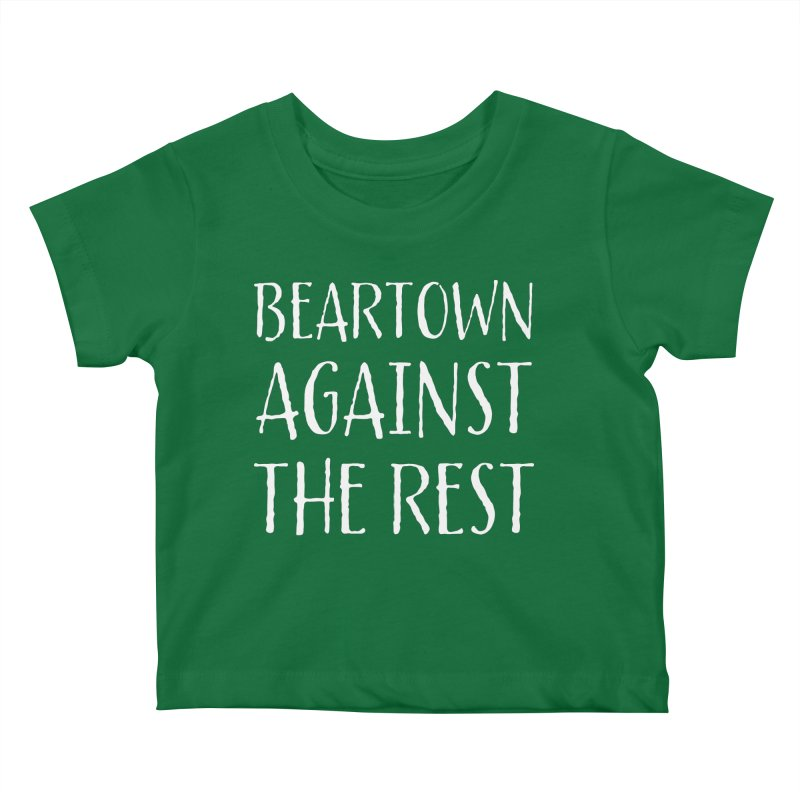 Beartown Against The Rest Kids Baby T-Shirt by Hadeda Creative's Artist Shop