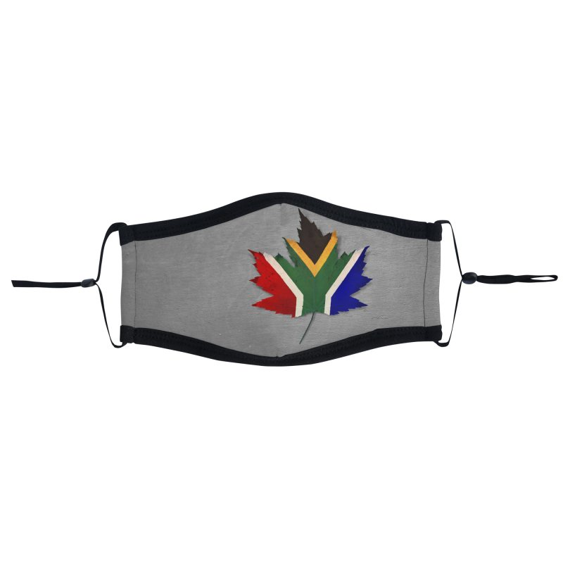 South Africa Maple Accessories Face Mask by Hadeda Creative's Artist Shop