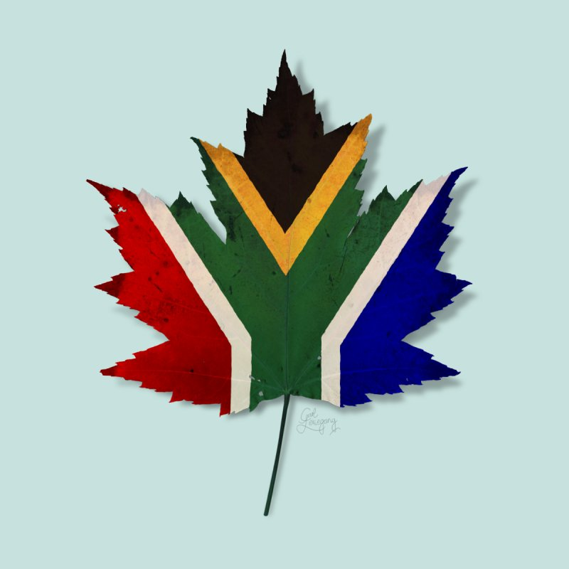 South Africa Maple Accessories Sticker by Hadeda Creative's Artist Shop