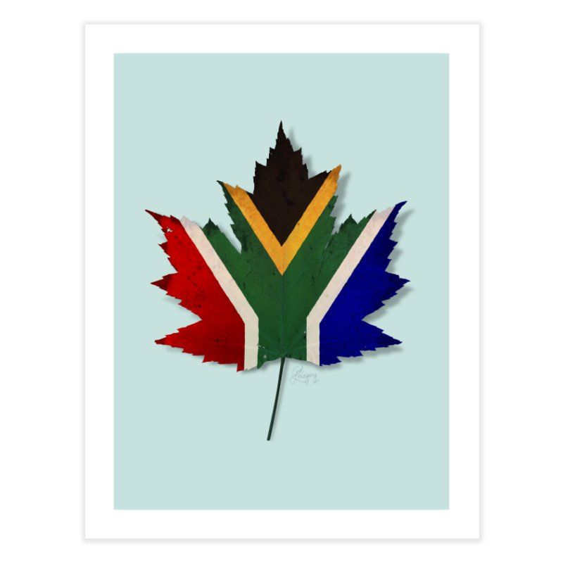 South Africa Maple Home Fine Art Print by Hadeda Creative's Artist Shop