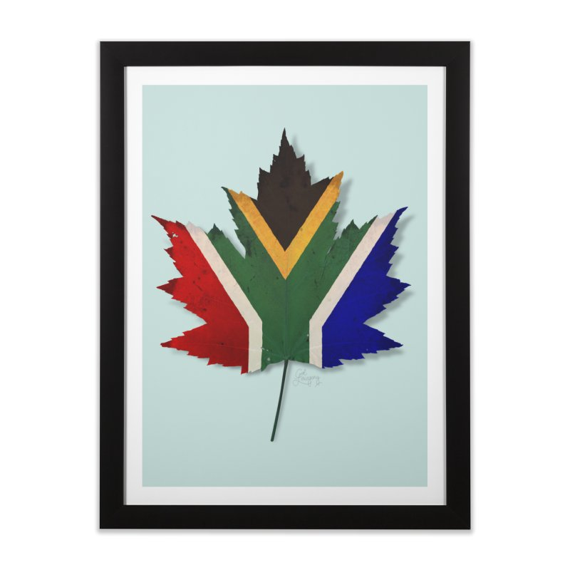 South Africa Maple Home Framed Fine Art Print by Hadeda Creative's Artist Shop