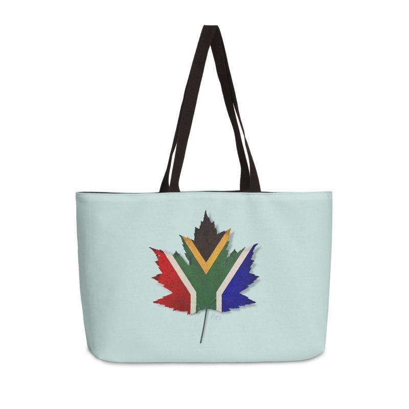 South Africa Maple Accessories Weekender Bag Bag by Hadeda Creative's Artist Shop