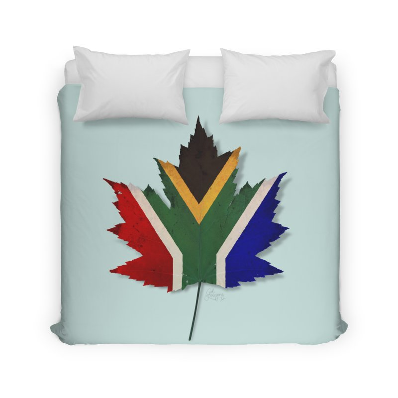 South Africa Maple Home Duvet by Hadeda Creative's Artist Shop