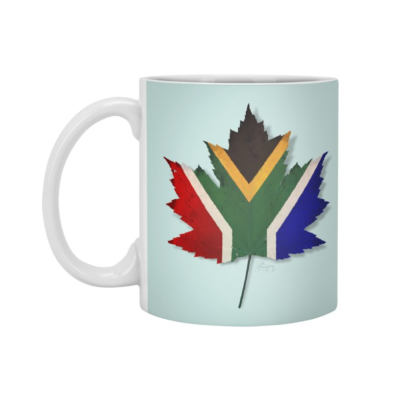 South Africa Maple Accessories Mug by Hadeda Creative's Artist Shop