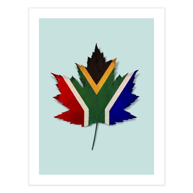 South Africa Maple Home Fine Art Print by Hadeda Creative's Artist Shop